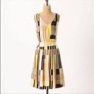Anthropologie Maeve Silk Dress 0